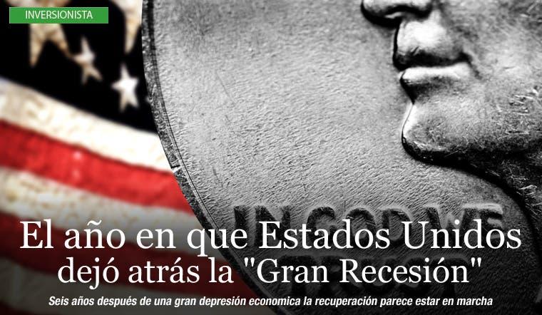 """El año que en Estados Unidos dejó atrás la """"Gran Recesión"""""""