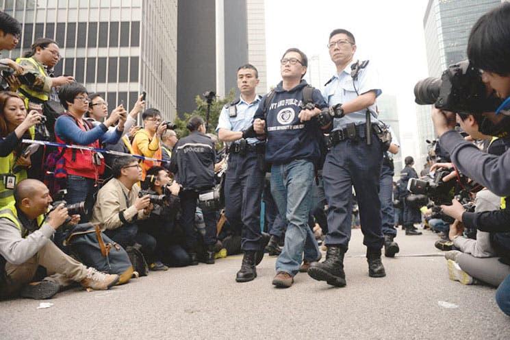 Revolución hongkonesa despierta nueva generación política