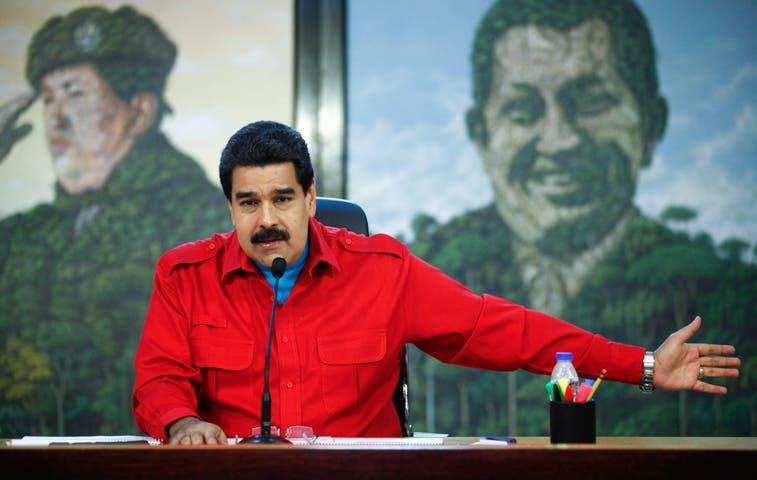 """Maduro convoca a marcha de """"repudio al imperialismo"""" de EE.UU."""