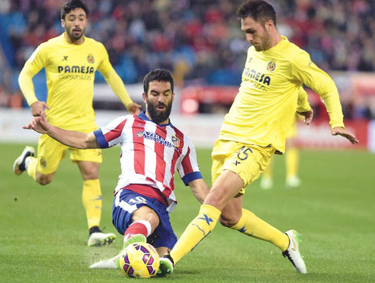 Villarreal asalta el Calderón