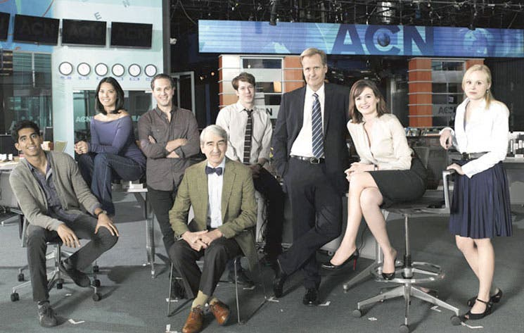 The Newsroom se despide