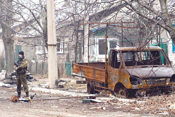 Impulsan negociaciones de paz en Ucrania
