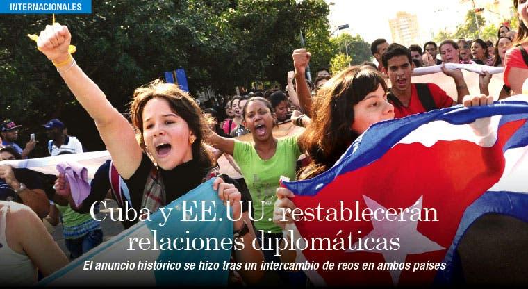 Histórico: Cuba y EE.UU. restablecen relaciones diplomáticas
