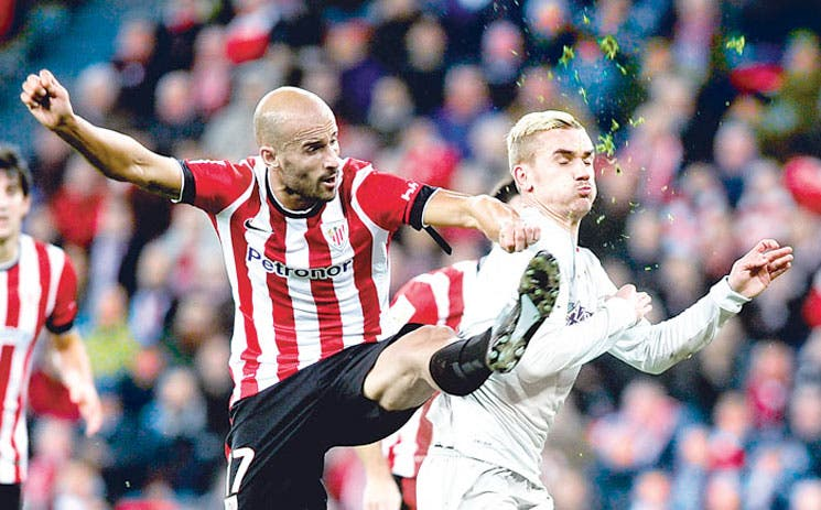 Atlético remonta en San Mamés