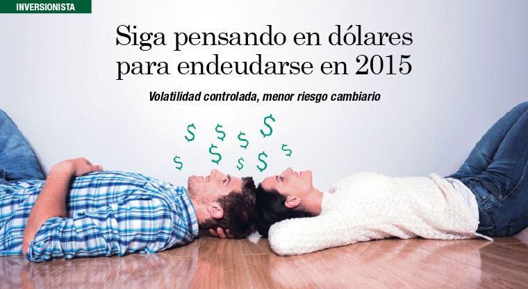 Siga pensando en dólares para endeudarse en 2015