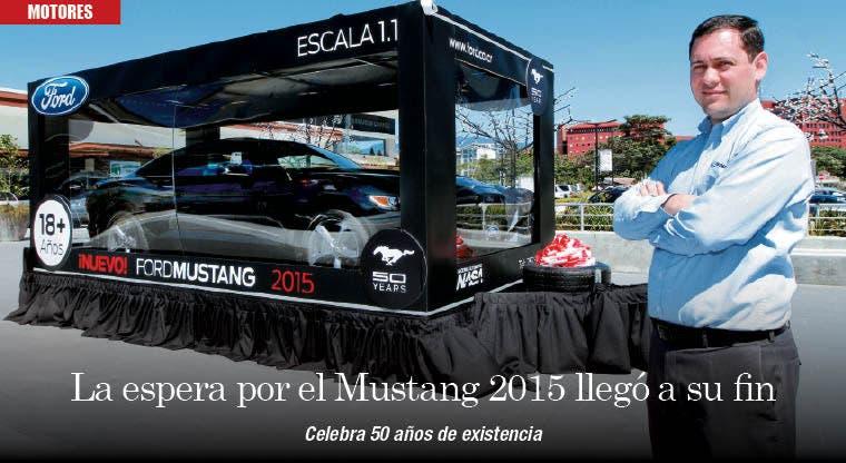 La espera por el Mustang 2015 llegó a su fin
