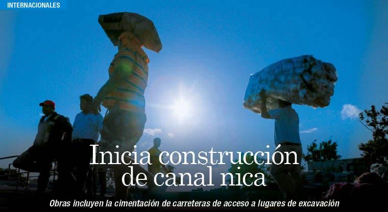 Canal en Nicaragua arranca con expectativas económicas