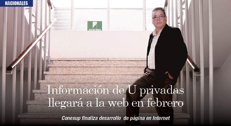 Información de U privadas llegará a la web en febrero