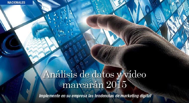 Análisis de datos y vídeo marcarán pauta en 2015