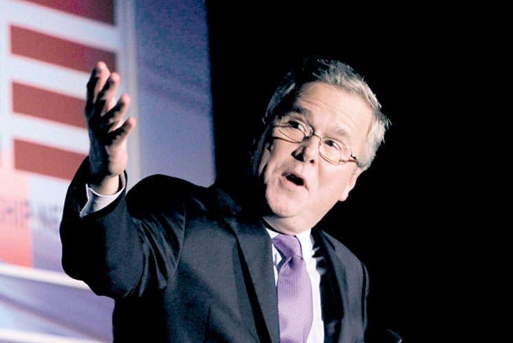 Jeb Bush lidera sondeo sobre potenciales candidatos republicanos en EE.UU.