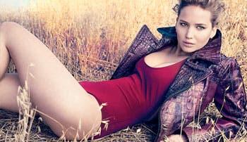 Jennifer Lawrence vale oro