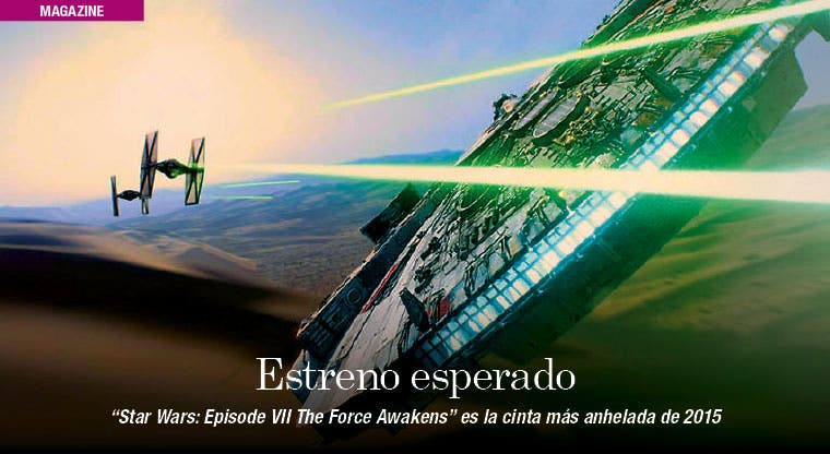 """Star Wars"" y su regreso, protagonista de 2015"