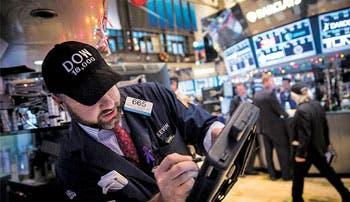 Wall Street cerró a la baja y el Dow Jones pierde los 18 mil puntos