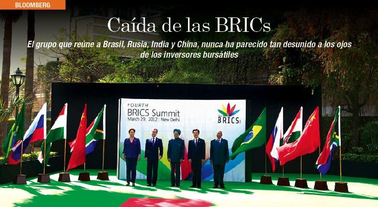 BRICs experimentan diferencias bursátiles récord