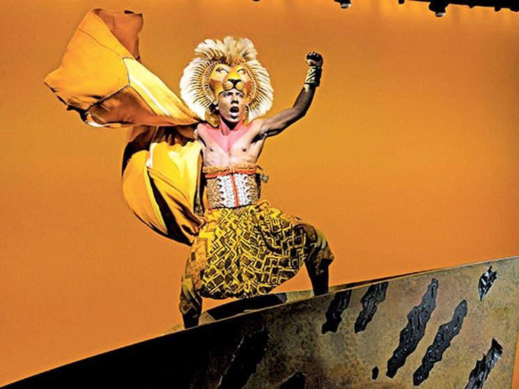 """""""El rey león"""": el más taquillero de Broadway"""