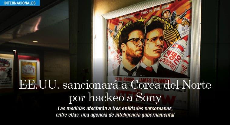 EE.UU. impone nuevas sanciones a Corea del Norte por ciberataque a Sony