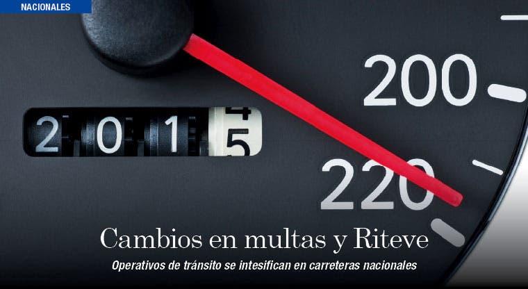 Nuevo año llega con cambios en multas y Riteve
