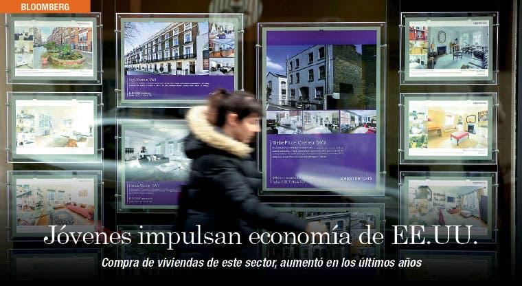 Compradores jóvenes de viviendas aumentan economía de EE.UU.