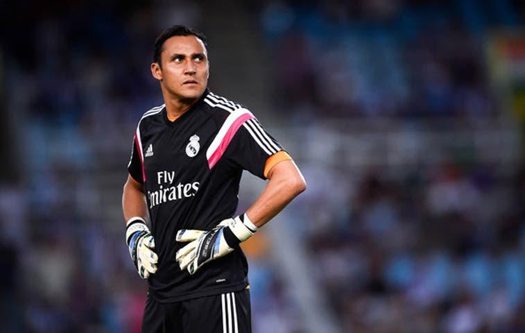 Keylor Navas será titular en Copa del Rey