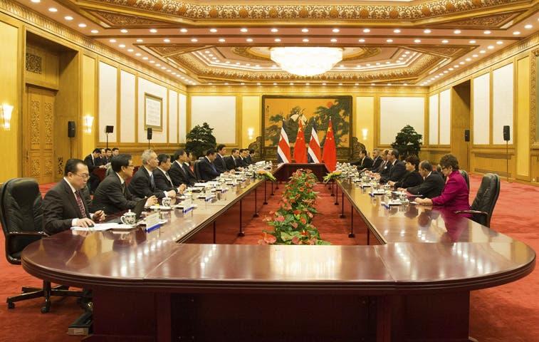 Costa Rica acepta $24 millones no reembolsables de cooperación china