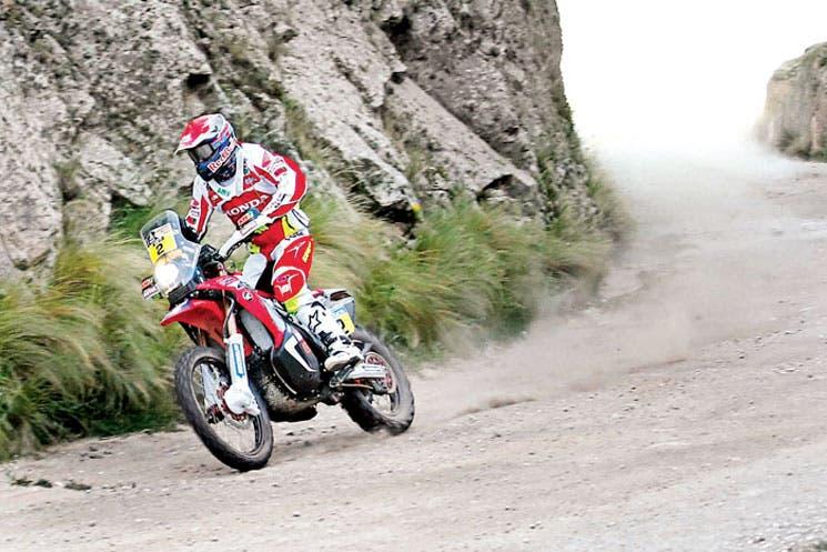 Barrera domina en motos