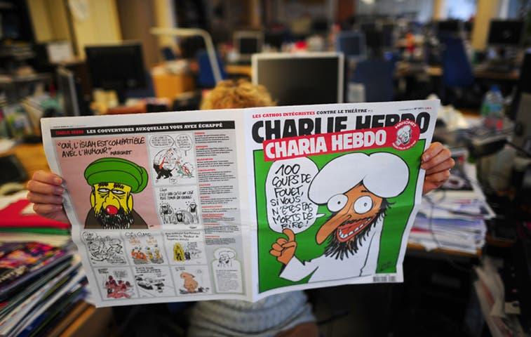"""Cómic sobre Mahoma provocó ataque contra semanario """"Charlie Hebdo"""""""