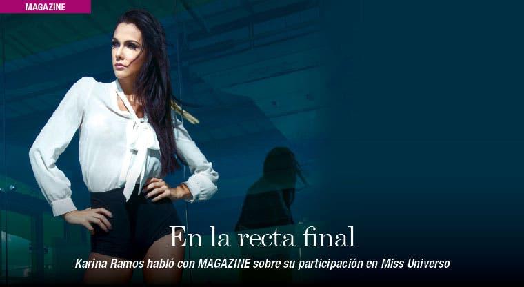 Miss Universo en la recta final
