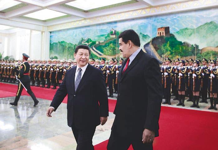 Maduro logra acuerdos multimillonarios en China