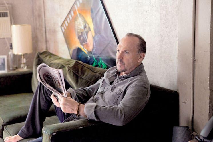 Michael Keaton juega a la autoparodia y avanza hacia el Óscar