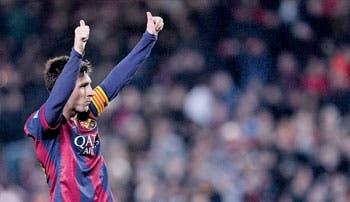 Goleada alivia al Barça