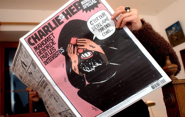 """Más de 200 mil personas marchan por """"Charlie Hebdo"""""""