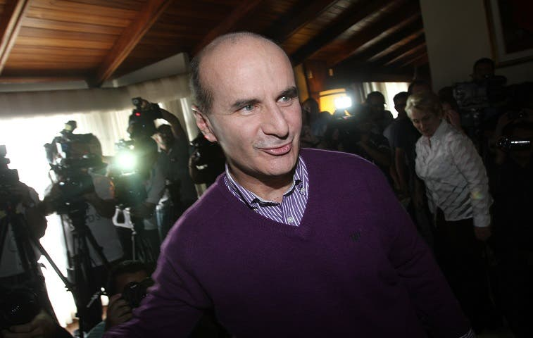 José María Figueres quiere la presidencia del Partido Liberación Nacional