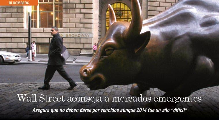 Wall Street aconseja a mercados emergentes