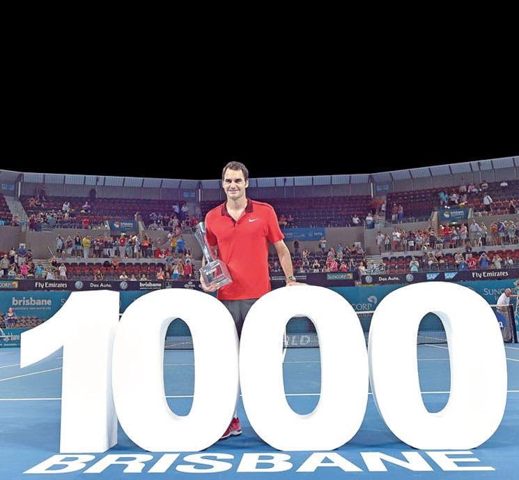 ¡Federer milenario!