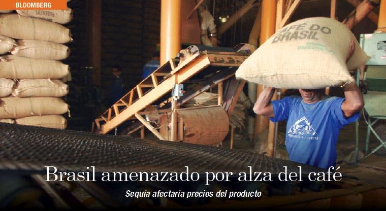 Sequía amenazan producción de café en Brasil