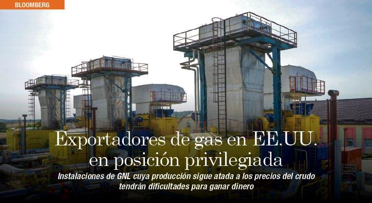 Exportadores de gas en EE.UU. están en posición privilegiada