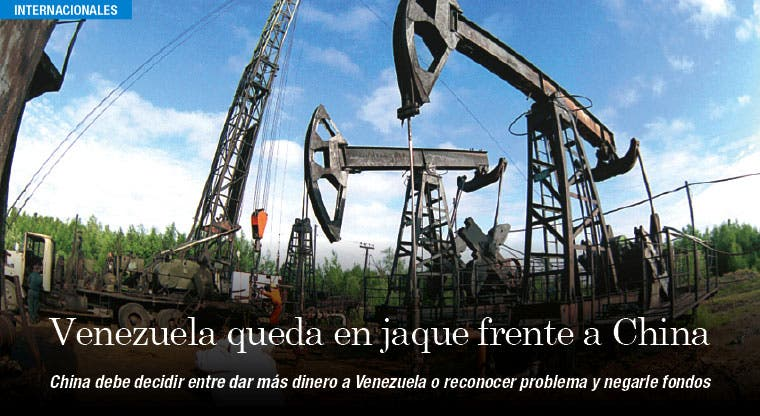 Venezuela queda en jaque frente a China por caída del petróleo