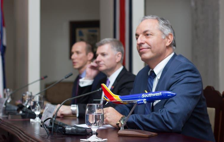 Aerolínea Southwest agrega dos nuevas rutas a Costa Rica
