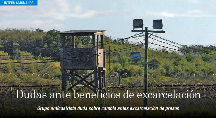 Excarcelación de presos cubanos no asegura cambio