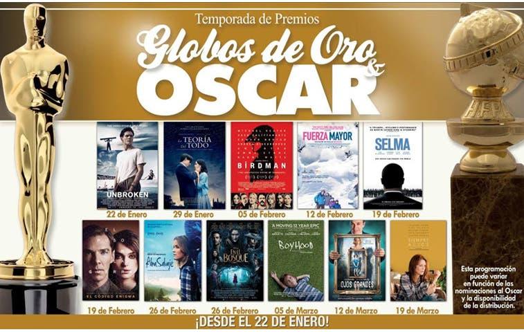Cine Magaly proyectará nominaciones al Óscar