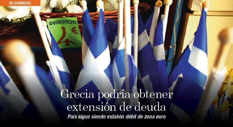 Grecia podría obtener extensión de deuda