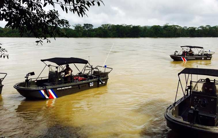 Gobierno norteamericano donó equipo marítimo para fronteras