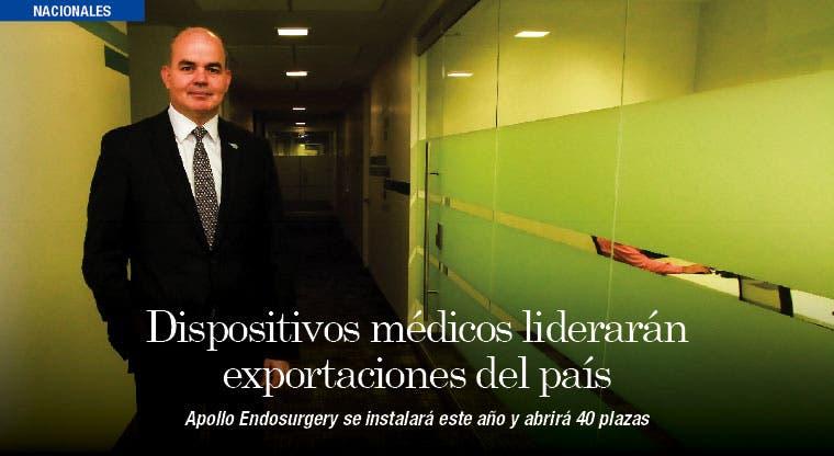 Dispositivos médicos liderarán exportaciones del país