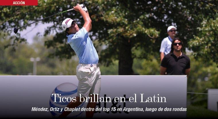 Ticos brillan en el Latin