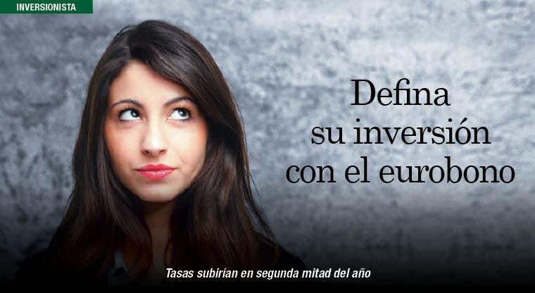 Defina su inversión en torno al eurobono