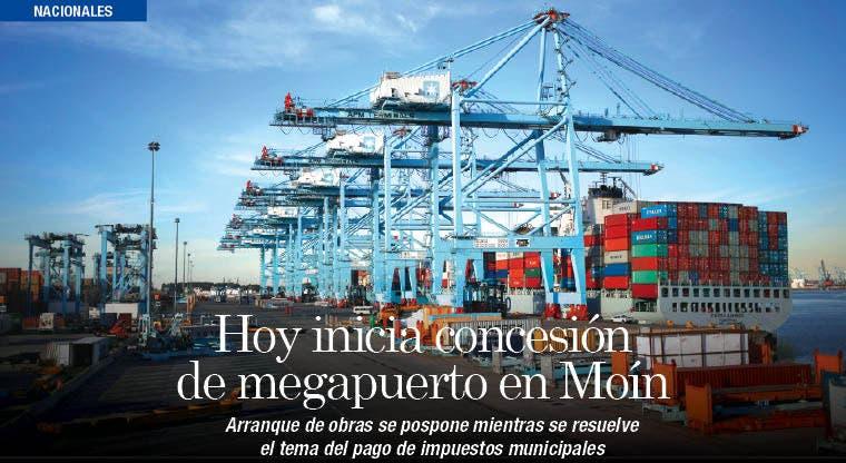 Hoy inicia concesión de megapuerto en Moín
