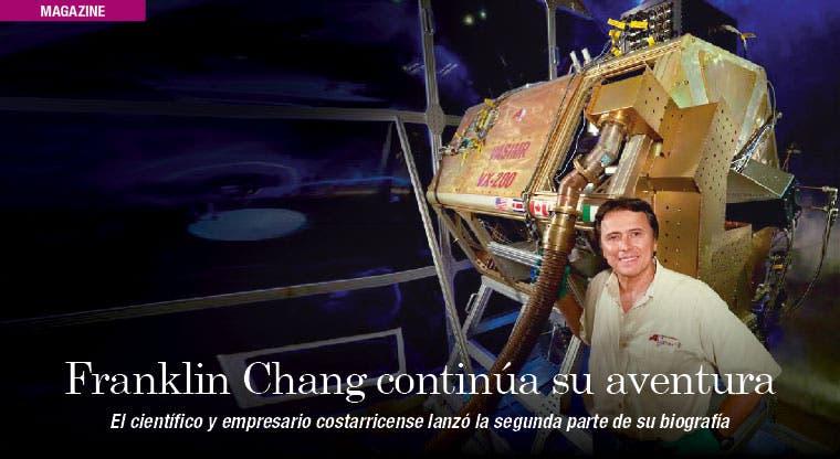 Franklin Chang continúa su aventura