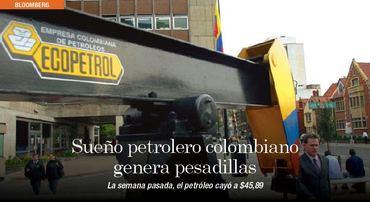 Sueño petrolero colombiano genera pesadillas