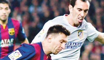 Messi amenaza al Atlético