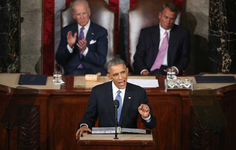 Obama propone una agenda social ambiciosa y fin de embargo a Cuba